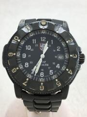 F-117 NIGHTHAWK/クォーツ腕時計/アナログ/ステンレス/BLK