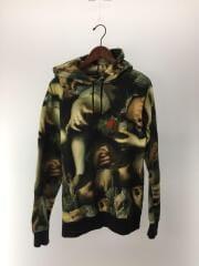 15SS/Hooded Sweatshirt/パーカー/M/コットン/マルチカラー/総柄/絵