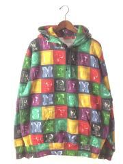 20AW/Blocks Hooded Sweatshirt MultiColor/L/コットン/マルチカラー/プルオーバーパーカー