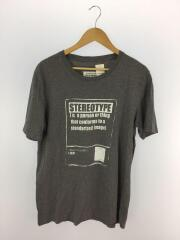 Tシャツ/52/コットン/GRY