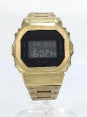 クォーツ腕時計/デジタル/--/BLK
