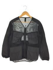 20SS/Mesh Jacket/ナイロンジャケット/L/ナイロン/ブラック/JK-20SU10903BK