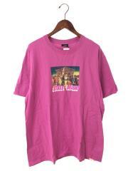 Zeus Tee/Tシャツ/L/コットン/ピンク