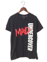 MAD/Tシャツ/M/コットン/ブラック
