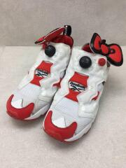 InstaPump Fury OG Shoes/サンリオコラボ/ローカットスニーカー/24cm/ホワイト/EH2798