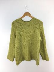 セーター(厚手)/ニット//アクリル/ライトグリーン/ピスタチオカラー//無地