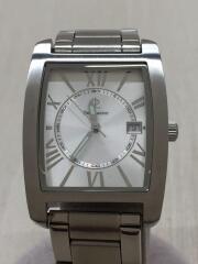 クォーツ腕時計/アナログ/ステンレス/SLV/SLV