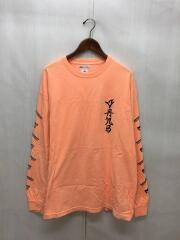 長袖Tシャツ/L/コットン/ORN