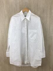 イタリア製/長袖シャツ/40/コットン/ホワイト/白/デザイナーズ/インポート/マルジェラ