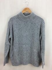 セーター(厚手)/1/ウール/グレー