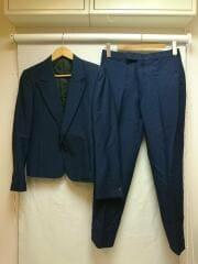 スーツ/セットアップ/36/ウール/ネイビー