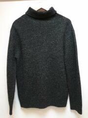 セーター(厚手)/--/ウール/BLK/WARREN&COTT/タートルネック/ハイネック/ブラック