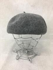 ベレー帽/ウール/GRY
