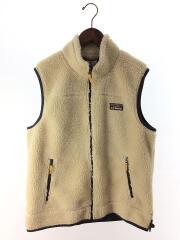 Mountain Pile Fleece Vest/フリースベスト/ポリエステル/BEG/無地