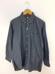 ラウンジカット/タブカラーシャツ/36/コットン/IDG/タブカラーシャツ/KS8SSH07