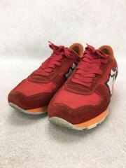 ローカットスニーカー/40/RED/スウェード
