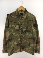 BUDS LS 02/ミリタリージャケット/2/コットン/マルチカラー/カモフラ