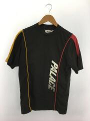 Tシャツ/S/コットン/BLK/ロゴ