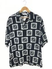 半袖シャツ/XL/レーヨン/BLK/20SS/オープンカラーシャツ/20SS-SY5-011