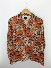【タグ付】20AW/C.O.B. Classic Shirts/長袖シャツ/L/レーヨン/ORN/総柄