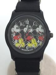 腕時計/アナログ/ナイロン/文字盤カラー:ブラック