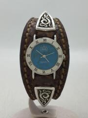 SAAD/サード/クォーツ腕時計/アナログ/レザー/腕時計