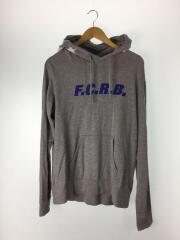 F.C.R.B./パーカー/L/コットン/GREY/ブリストル/FCRB-170044