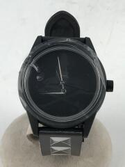 HYSTERIC GLAMOUR/ヒステリックグラマー/ソーラー腕時計/アナログ/ラバー/BLK