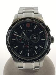 クォーツ腕時計/アナログ/ステンレス/ブラック/241816/Alliance Sport