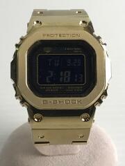 クォーツ腕時計/デジタル/ステンレス/GOLD/GMW-B5000