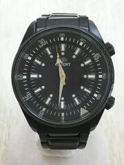 クォーツ腕時計/アナログ/--/BLK/BLKB:AA7A