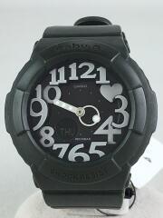クォーツ腕時計・Baby-G/デジアナ/ブラック