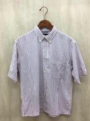 半袖シャツ/M/コットン/ストライプ/NT20602