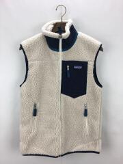 Classic Retro-X Vest/XS/ポリエステル/ベージュ/23048FA19