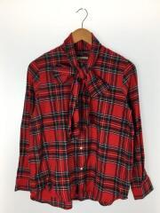 シャツ/--/コットン/RED/チェック/13-11-1102-370