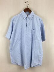 半袖シャツ/40/コットン/ブルー/ストライプ/KSBP9SSH02/プルオーバーシャツ