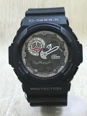 クォーツ腕時計・G-SHOCK/デジアナ/ラバー/ブラック/GA-300-1AJF