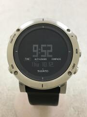 クォーツ腕時計/デジタル/ラバー/BLK/SS0203339000