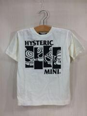 Tシャツ/110cm/コットン/WHT/プリント/STANDARD CHARCTOR