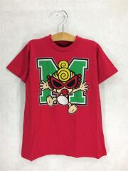 Tシャツ/110cm/コットン/RED/STANDARD CHARCTOR/Mロゴ/BIG