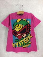 Tシャツ/110cm/コットン/PNK/プリント/HYS MINILA/BIG