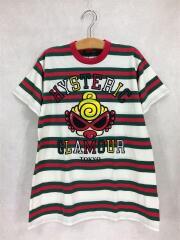 Tシャツ/120cm/コットン/マルチカラー/ボーダー/PUFFY MINI/BIG