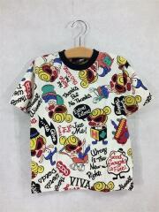 Tシャツ/110cm/コットン/IVO/総柄/VIVA!HYSTERIC!/