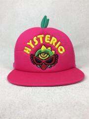 帽子/ポリエステル/PNK/メッシュ/HYS MINILA/ヒレ付/キャップ