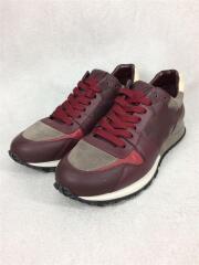 ローカットスニーカー/シューズ/靴/UK6/ボルドー/GO0144/Run Away Sneaker