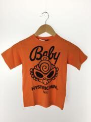 Tシャツ/110cm/コットン/ORN/プリント/CLASSIC MINI/オレンジ