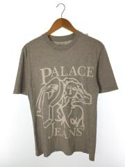 Tシャツ/半袖カットソー/プリントTEE/S/コットン/グレー/17SS/P JEANS T