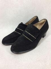 ローファー/靴/シューズ/UK4.5/BLK/スウェード/DU22462/ラグジュアリー