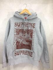Supreme Doves Hooded Sweatshirt/19aw/s/パーカー/グレー