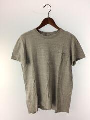 Tシャツ/3/コットン/グレー/半袖カットソー/A00T02ST/ポケットT